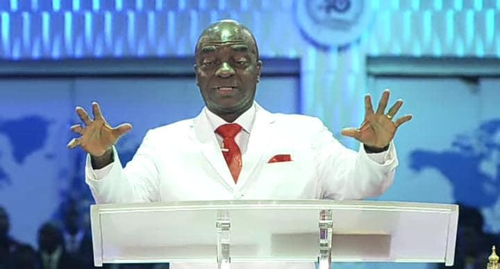 Bishop David Oyedepo on Sunday: says Buhari's govt evil