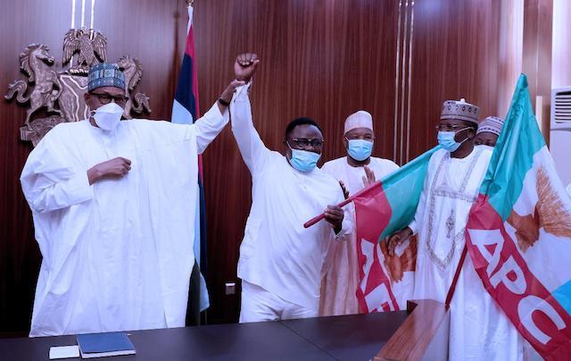 Buhari applauds Ayade for joining APC