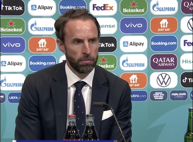 Gareth Southgate: I take the blame for England's loss