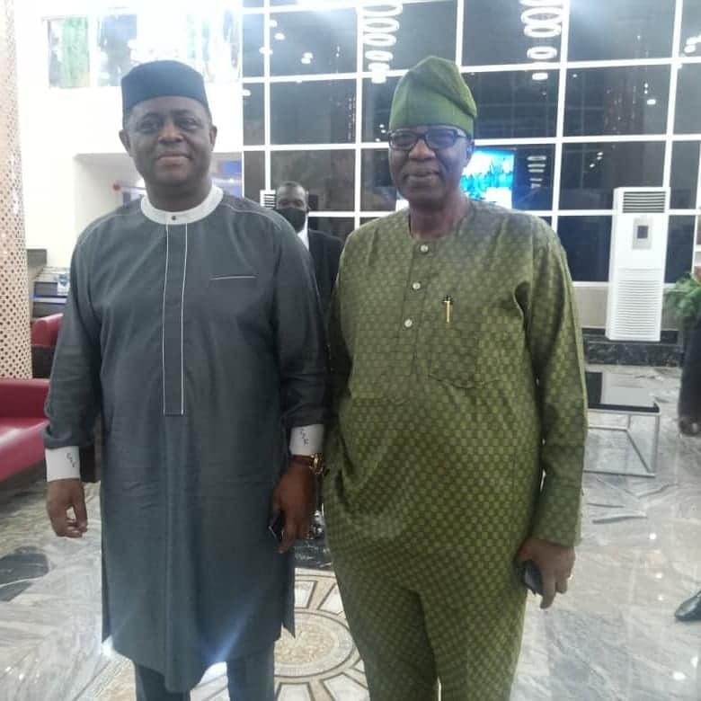 Fani-Kayode visits Gbenga Daniel