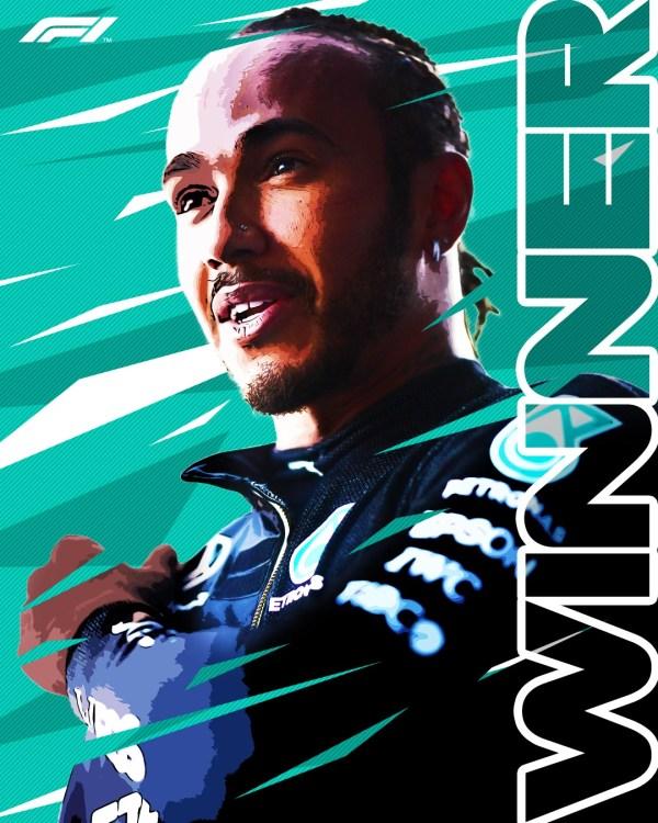 Lewis Hamilton winner of British Grand Prix
