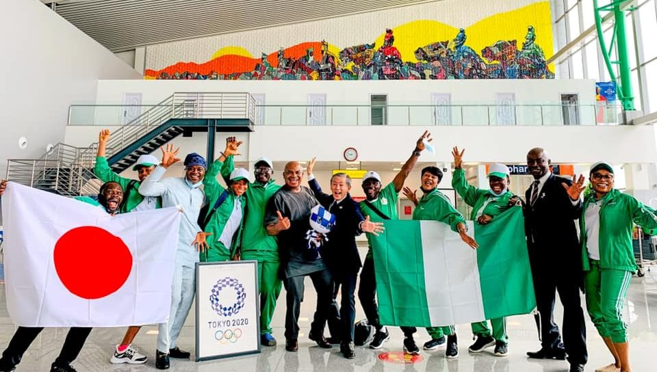 Nigeria's Olympic Team: an official hospitalised for COVID-19