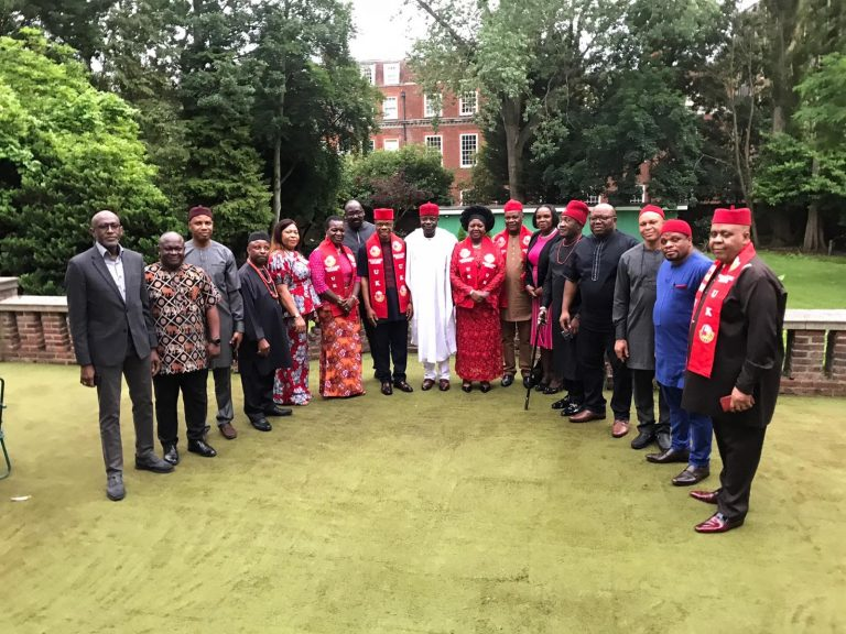 Nigeria's UK envoy meets Igbo, Yoruba leaders in London