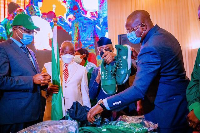 Vice President Yemi Osinbajo unveils Team Nigeria's 2020 Tokyo  Olympic Kit