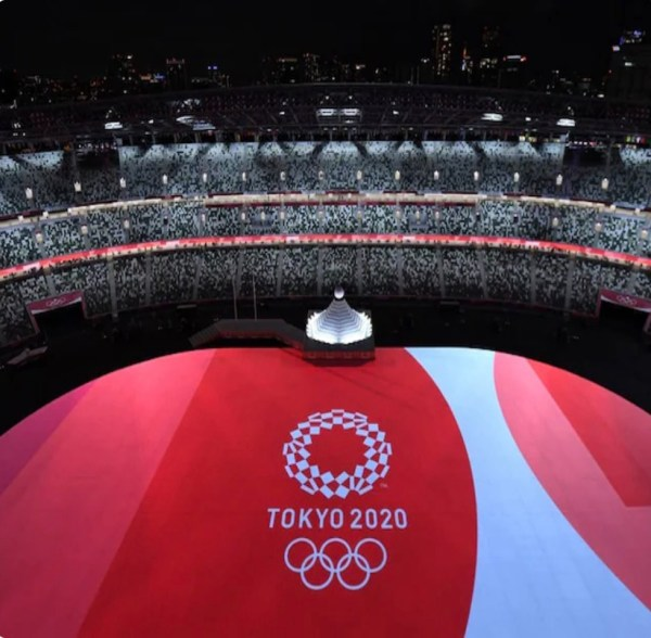 Tokyo Puts Up Show Spectacular At Olympic Opening