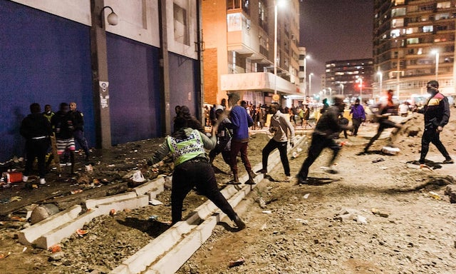 Zuma Rioters in South Africa