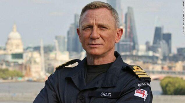 James Bond star Daniel Craig becomes UK Navy honorary officer