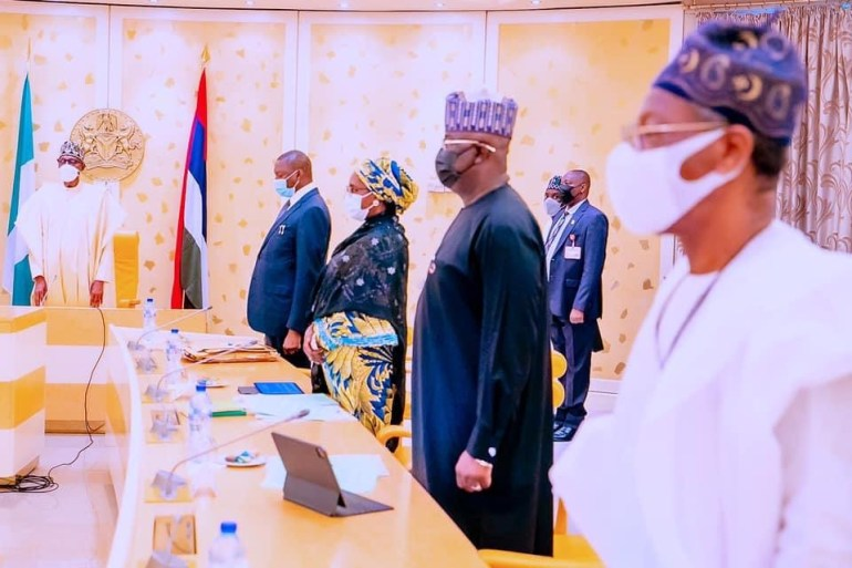 Buhari Presides Over Federal Executive Council(FEC) Meeting (Photos)