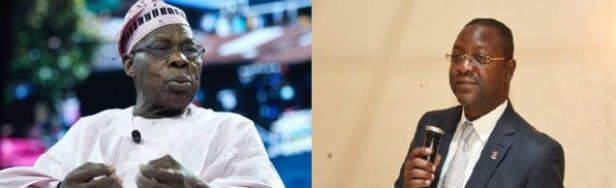 Olusegun Obasanjo and Sunday Dare
