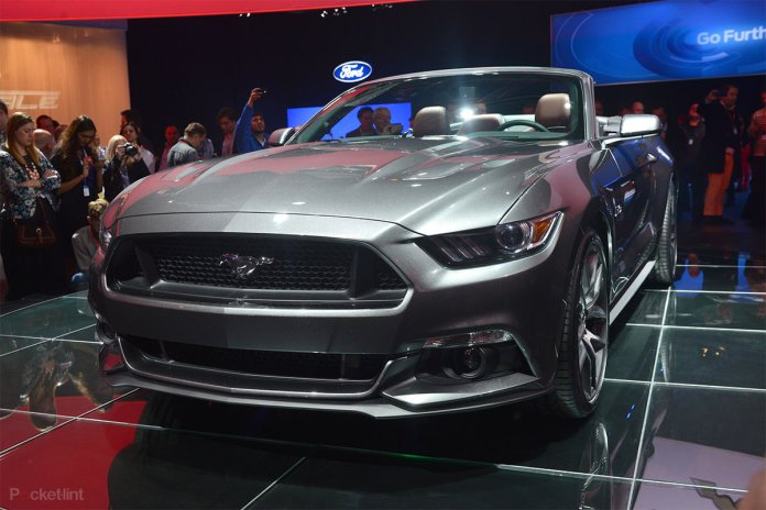 Ford Mustang Gt 2015 Coming To The Uk Pictures And Eyes On P