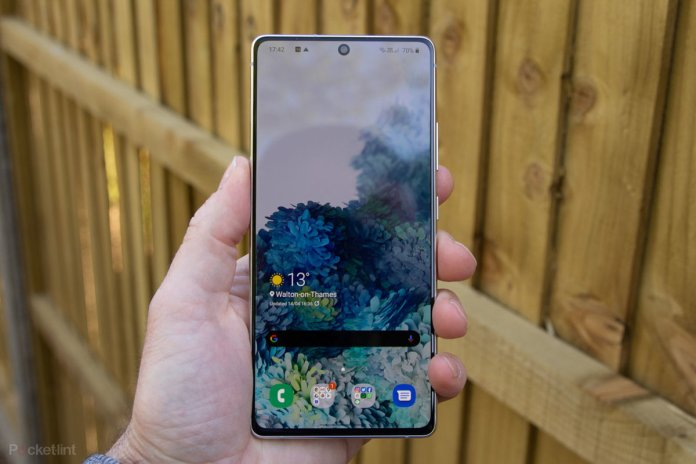 Samsung Galaxy S10 Lite Review Anything But Light