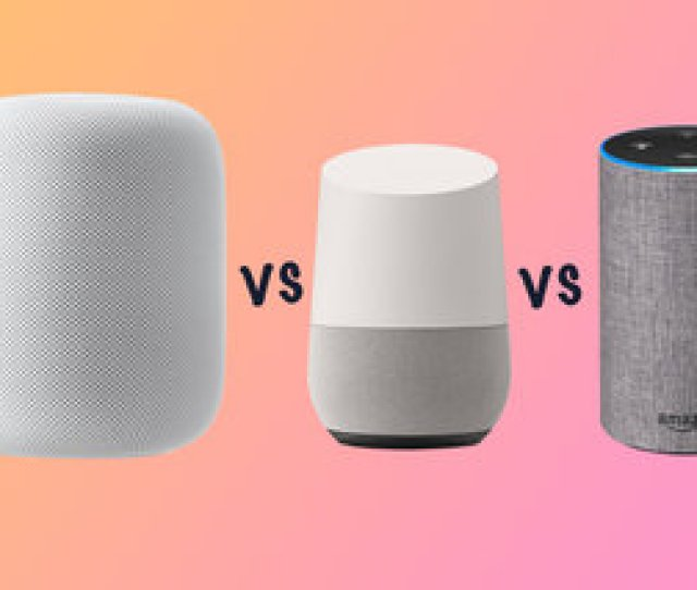Apple Homepod Vs Google Home Vs Amazon Echo Whats The Difference