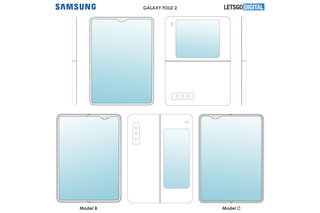 Heres what a Samsung horizontal folding phone could look like image 2