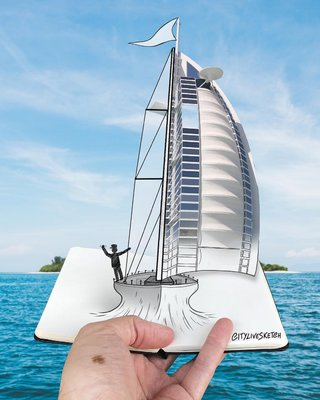 This Artist Changes Your Perspective Of The World With Incredible Sketches image 10