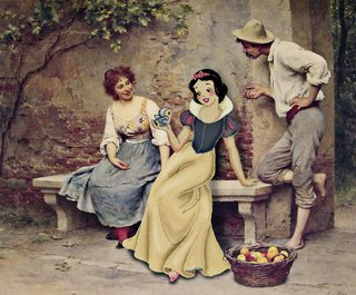 Amusing Images Of Cartoon Characters In Photoshopped Into Renaissance Paintings image 19
