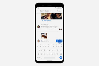 How to use Google Photos to start a private conversation or group chat image 2