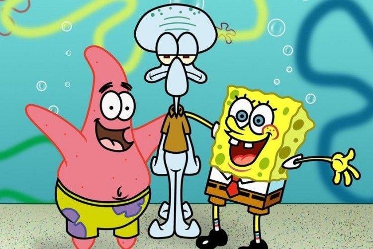 7 Nilai Persahabatan Dari Kartun Spongebob Squarepants Yang Menghibur
