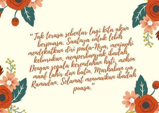 7 Ucapan Selamat Menunaikan Ibadah Puasa Ramadhan