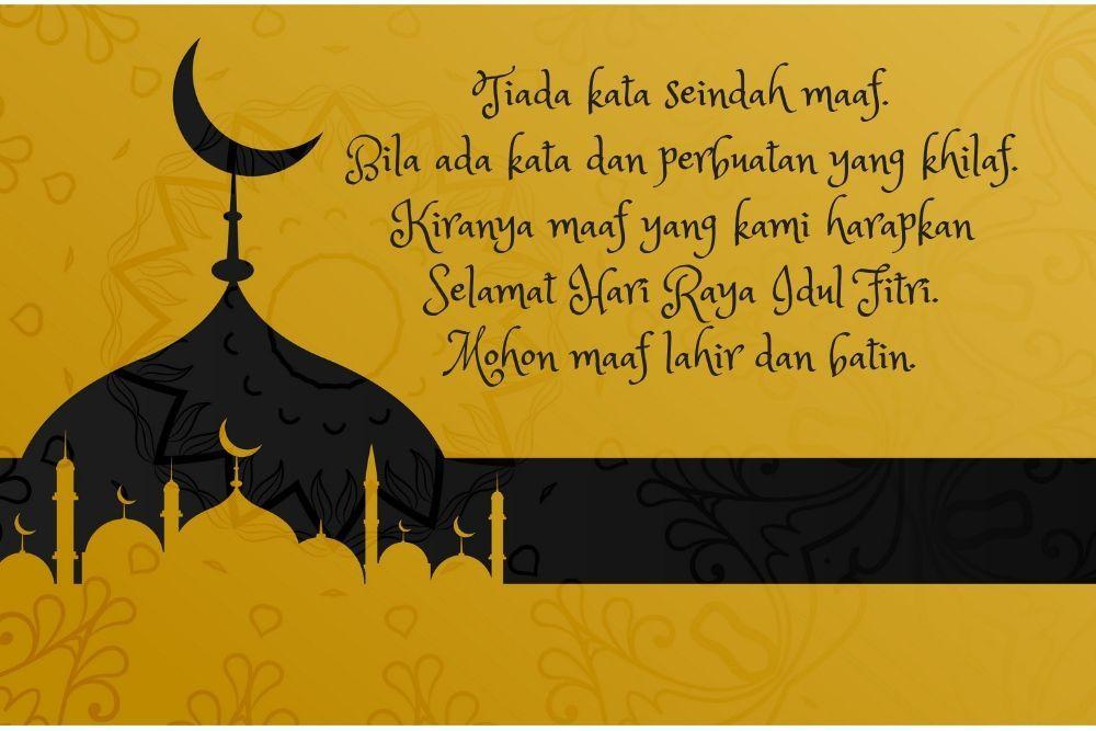 10 Gambar Ucapan Selamat Hari Raya Idul Fitri