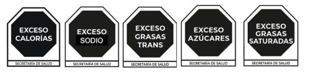 Estos son los sellos que aparecerán en los alimentos ultraprocesados