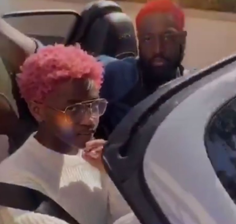 Dwyane Wade And Transgender 12 Yr Old Son Zion/Zaya Get Matching Hair Color! - Dwyane Wade And Transgender 12 Yr Old Son Zion/Zaya Get Matching Hair Color!