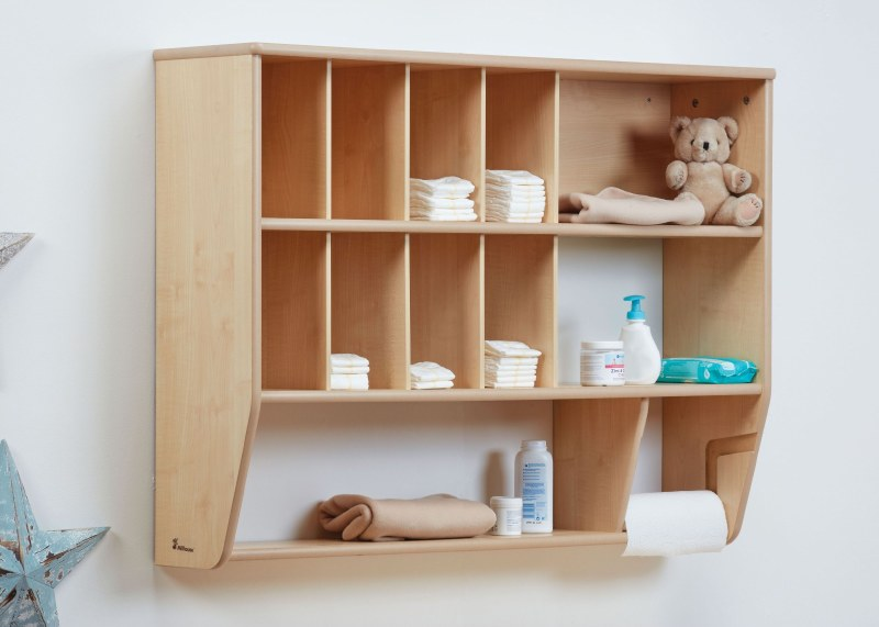 Baby Changing Wall Storage Unit Boards Direct