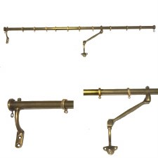portiere rods for doors