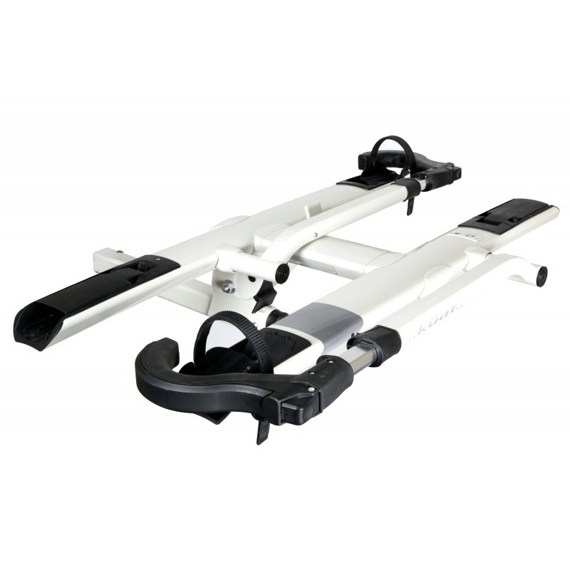kuat sherpa 2 0 2 bike hitch rack fits 2 hitches white
