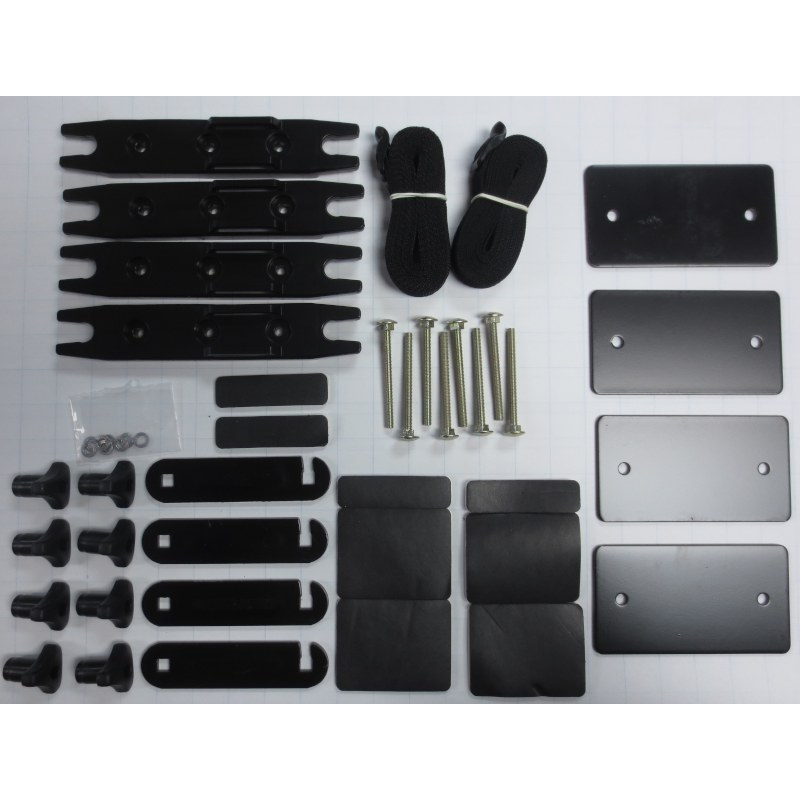 thule 04997 4 inch quick release hardware kit