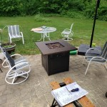 Endless Summer Donovan Propane Fire Pit With Dualheat Technology