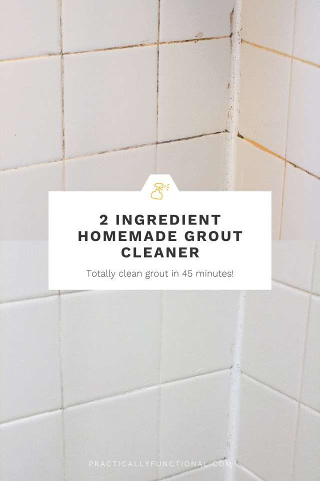 How To Clean Grout With A Homemade Grout Cleaner – Practically