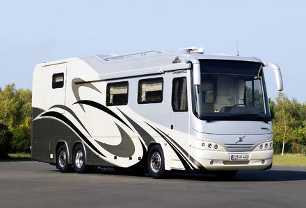 12 m Reisemobil 3 Erker 3 Achsen 420 PS 25t ZGG PKW