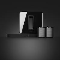 Sonos sistema Cine en Casa con PLAYBASE