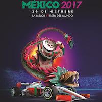 Cartel oficial FORMULA 1 GRAN PREMIO DE MÉXICO 2017