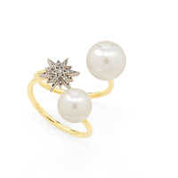 Pearls of Genesis H.Stern - ring in 18K gold, pearls and diamonds