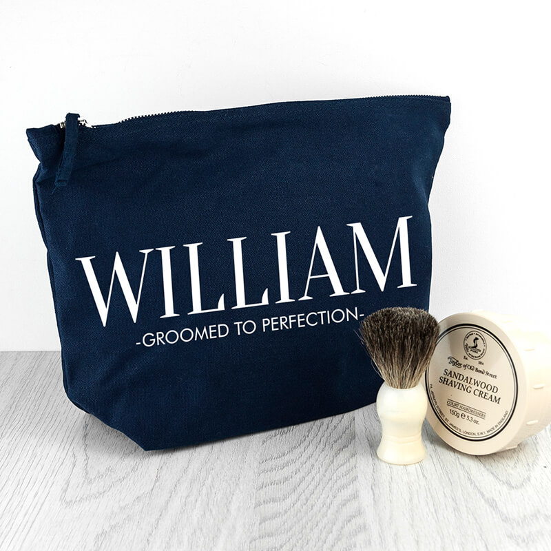 Personalised Mens Wash Bag Buy From