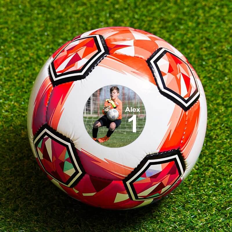 In addition to football, you can follow more than 30 sports on flashscore. Personalised Photo Football - Small Red - Buy from ...