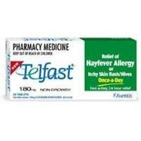 Find the best price on Sanofi-Aventis Telfast 180mg 30 ...