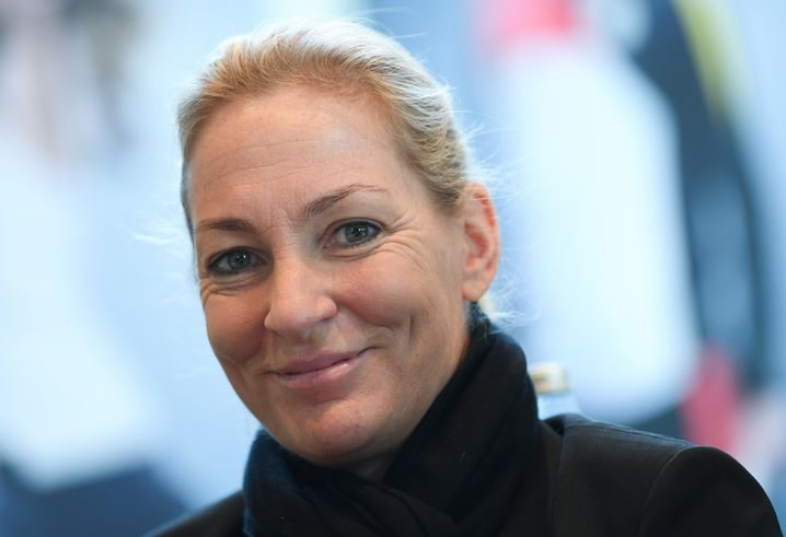 Barbara Rittner coached the German Fed Cup team for many years