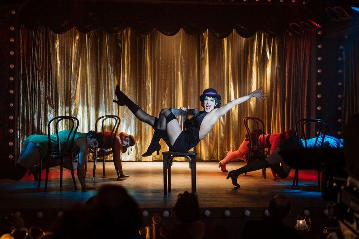 Musicalszene aus »Fosse/Verdon«: Welterfolg mit der Verfilmung von »Cabaret«