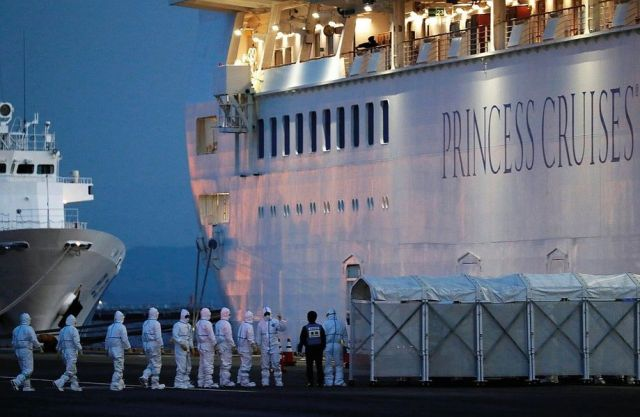 A coronavirus nightmare: medical personnel on the Diamond Princess in February