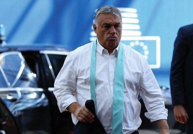 Hungarian Prime Minister Viktor Orbán in Brussels