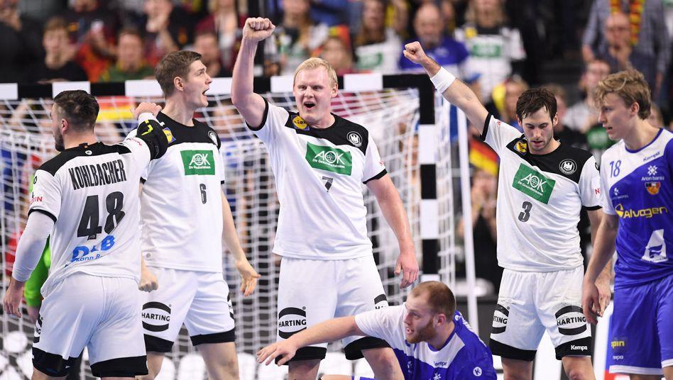handball wm wie deutschland heute ins halbfinale einziehen kann der spiegel
