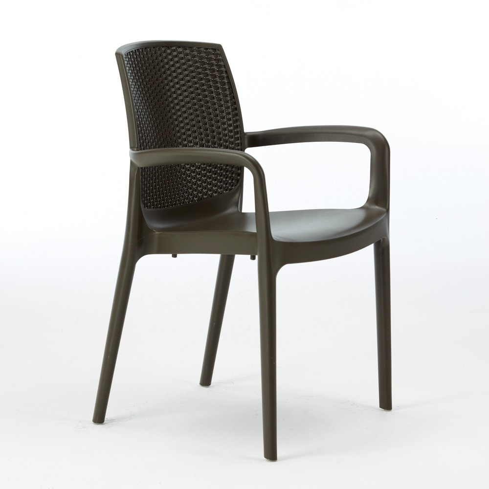 Discover a curated selection of men's clothing, footwear and lifestyle items. Set of 18 BOHÈME ARM Garden Dining Chair With Armrests Rattan