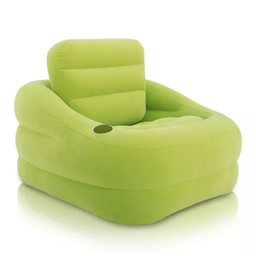 fauteuil gonflable d exterieur jardin pour bord de piscine intex 68586