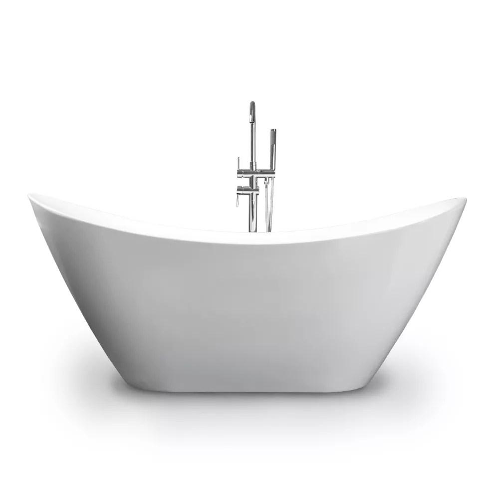 baignoire ilot ovale autoportante design libre siro