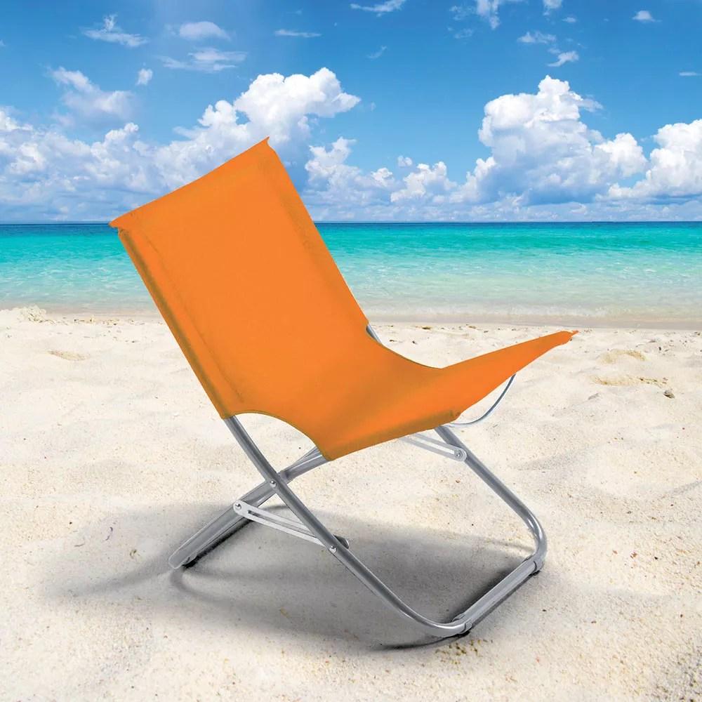 chaise de plage transat pliante fauteuil piscine acier rodeo