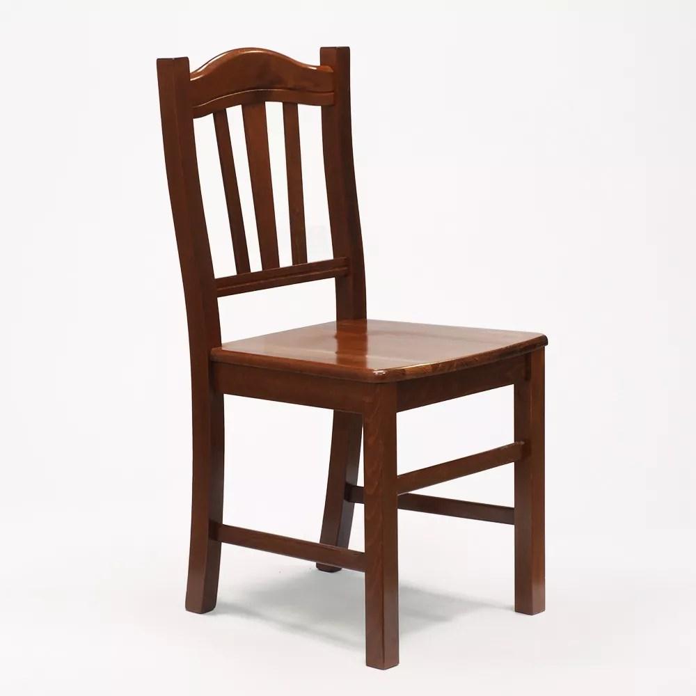 chaise en bois pour salle a manger et salon au design classique silvana
