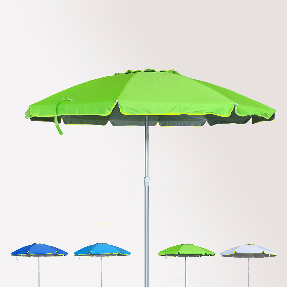 Secondo le nostre valutazioni, sunphio è il miglior ombrellone da spiaggia del 2021, perchè non si limita a fare ombra ma vi offre una protezione completa dal sole, dai raggi uv e dalla pioggia. Roma Ombrellone In Alluminio Protezione Uv Antivento 240cm Spiaggia