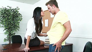 Dean India Summer calls in a student Preview Image